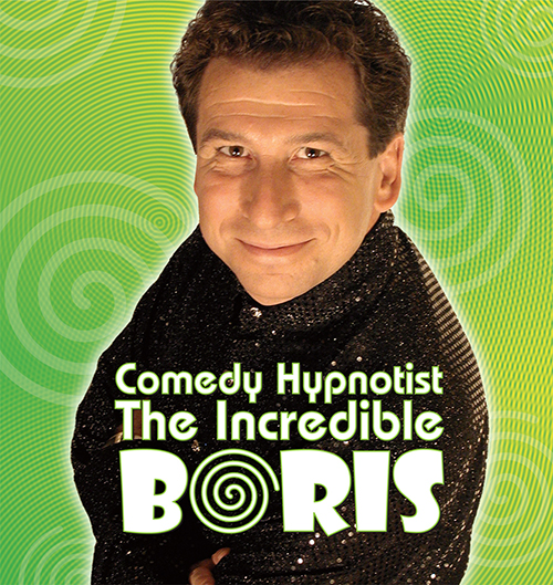Comedy Hypnotist Incredible BORIS